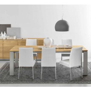 Tavolo GATE 160 ALLUNGABILE A 220 by Connubia Calligaris