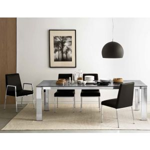 Tavolo GATE 180 ALLUNGABILE A 240 by Connubia Calligaris