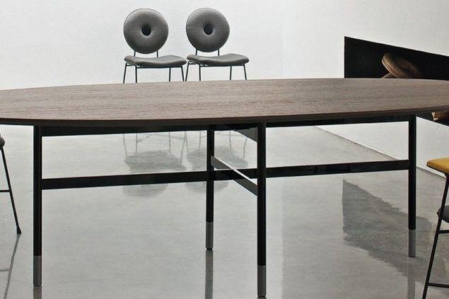 Tavolo GLAMOUR Piano Rettangolare 200 cm by Bontempi