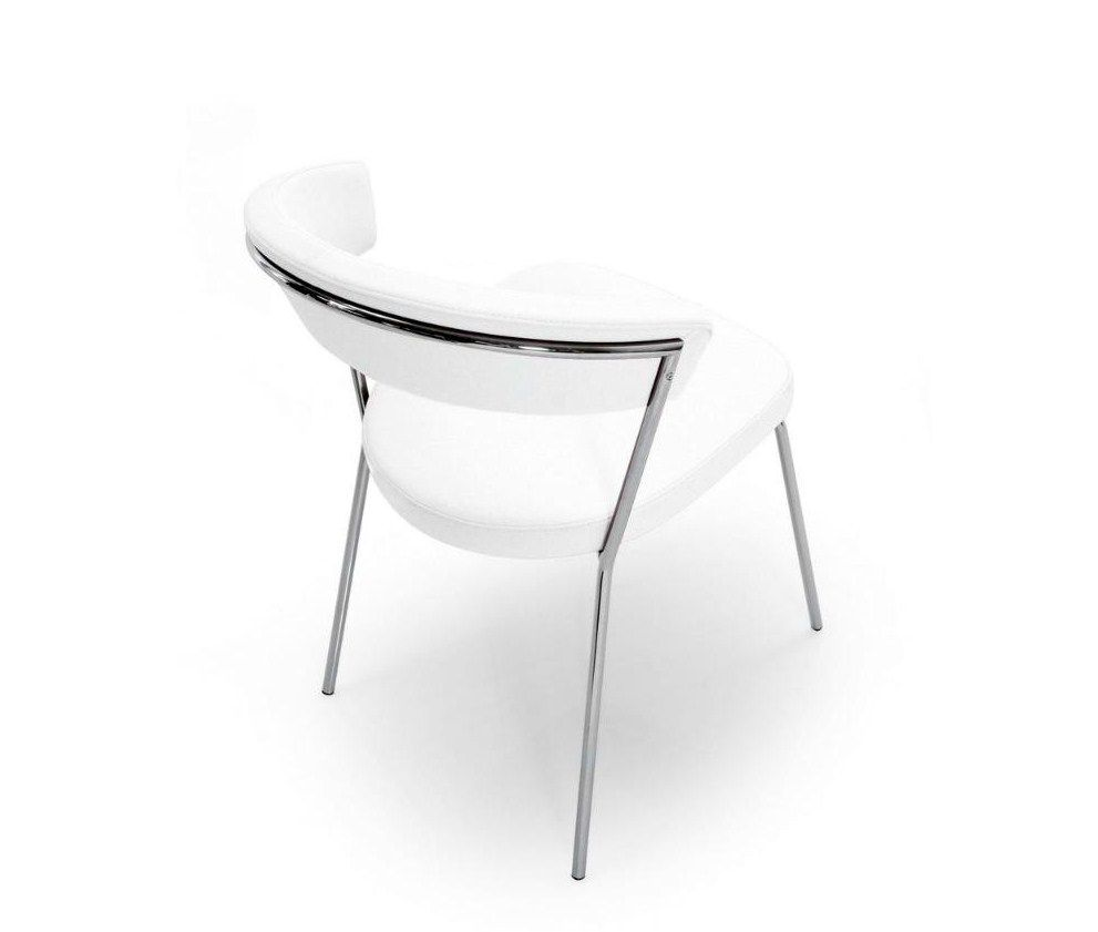 Sedia NEW YORK LEATHER by Connubia Calligaris