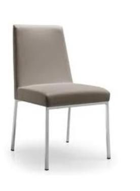 Sedia AMSTERDAM LEATHER by Connubia Calligaris