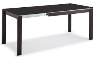 Tavolo BARON 110 ALLUNGABILE 155 TOP FENIX by Connubia Calligaris ...