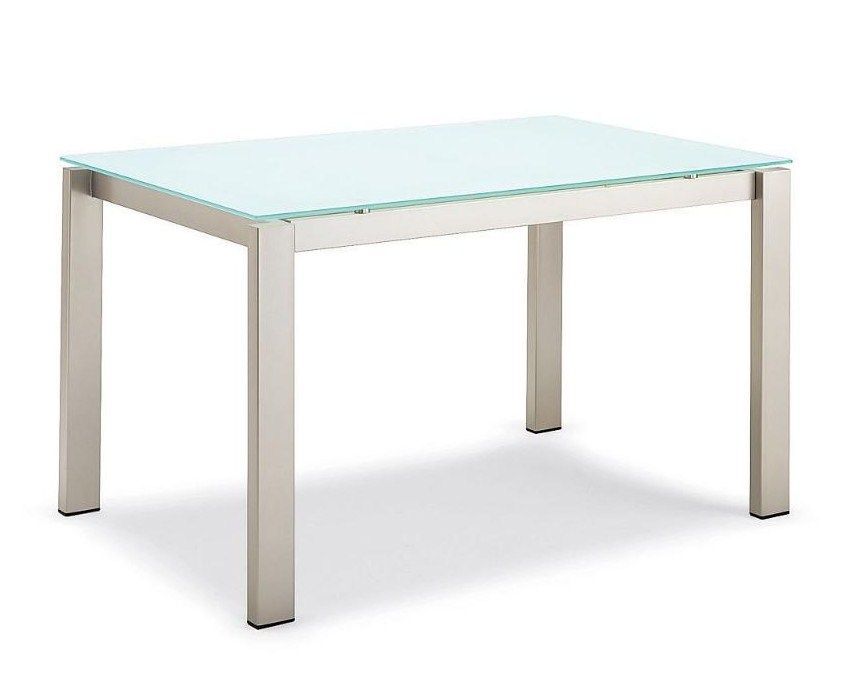 Tavolo baron 160 allungabile 220 top vetro by connubia for Tavolo cristallo allungabile calligaris