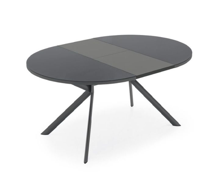 Tavolo giove tondo allungabile 165 by connubia calligaris for Tavolo ovale allungabile calligaris