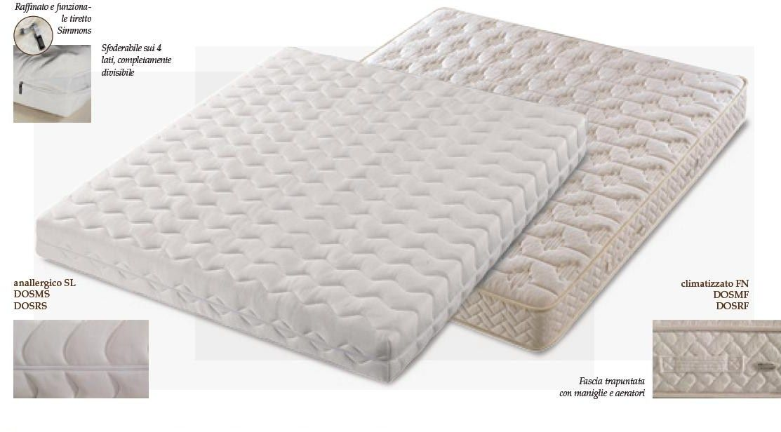 Materasso Simmons Dorsopedic Superior.Materasso Dorsopedic Superior Anallergico By Simmons