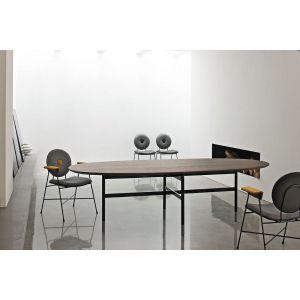 Tavolo GLAMOUR con Piano Ellittico 250 cm by Bontempi