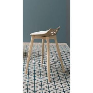Sgabello JAM WOOD BASSO by Connubia Calligaris