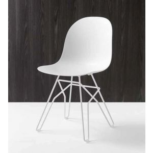 Sedia ACADEMY Gambe a Traliccio by Connubia Calligaris