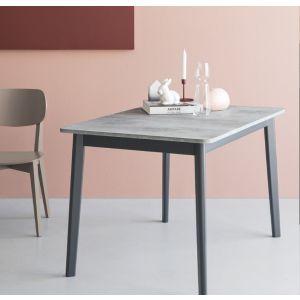 Tavolo DINE rettangolare 110 all 150 cm by Connubia Calligaris