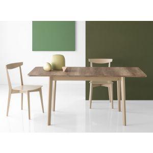 Tavolo DINE rettangolare 120 all 170 cm by Connubia Calligaris