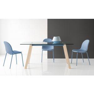 Tavolo T-TABLE Rettangolare 130 cm by Connubia Calligaris
